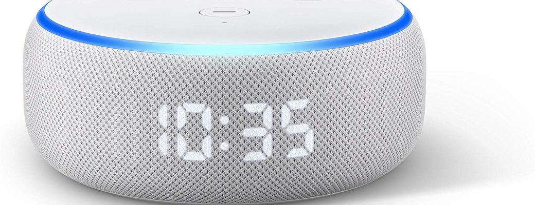 Amazon Echo Dot With…Clock (ψιλοκάνει και οιμοιοκαταληξία)